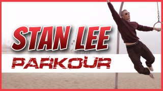 Stan Lee Does Parkour!