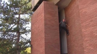 """46 Year Old Parkour – Ron Shalvis Sr. (Dad) – """"The Silver Fox"""""""