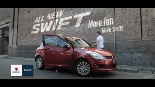 Mark Toia Shoots SUZUKI SWIFT parkour Commercial.