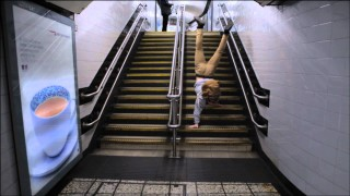 Day in a Handstand – London Underground