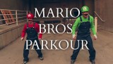 Super Mario Brothers Parkour in real life